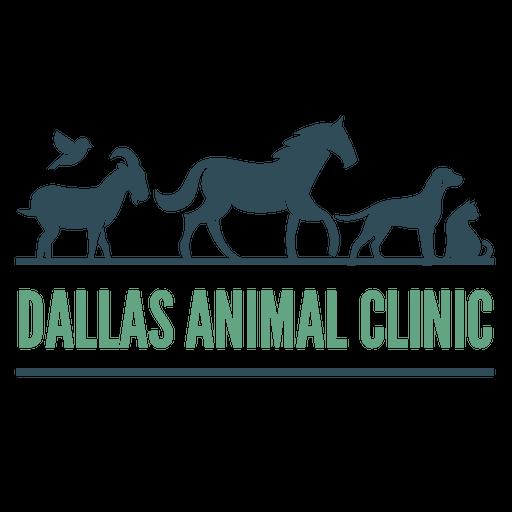 dallas animal clinic logo